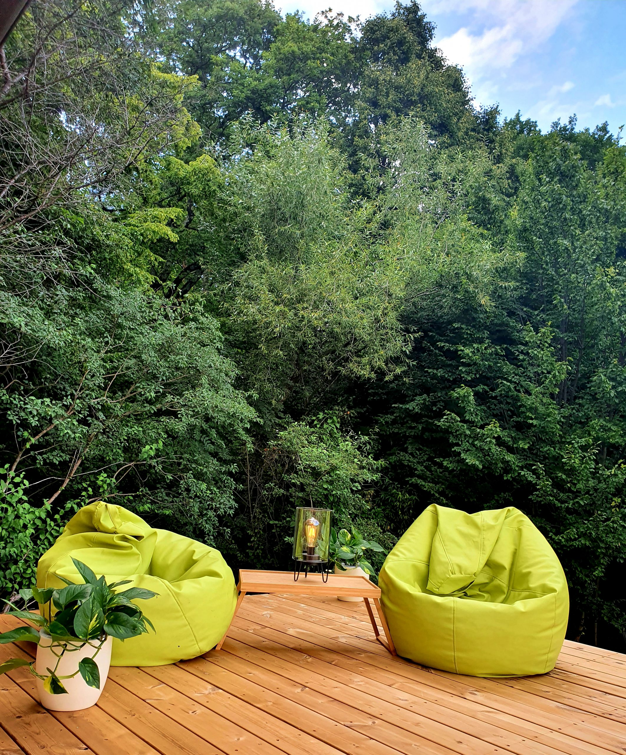 zona relaxare forest villa detox mindfulness